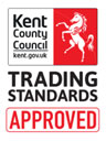 KCC Trading Standards Approved logo